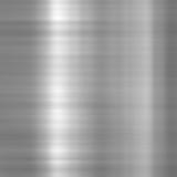 Brushed aluminium metallic plate