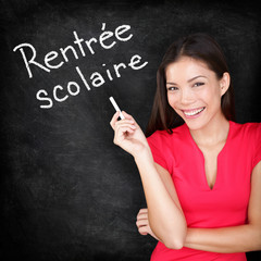 Rentree Scolaire - French teacher back to school