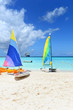 Boats for Rent on Caribbean Beach