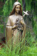 Bronze Statue of Virgin Mary