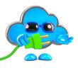 Cloud has a plug
