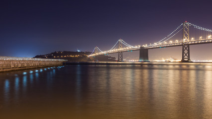 Bay Bridge towards Treasure Island