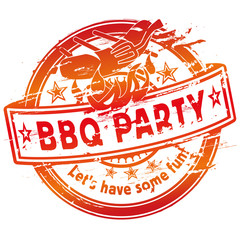 Stempel Barbecue Party