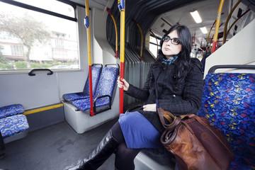 Bus Woman