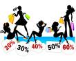 Sconti dal 20% al 60%