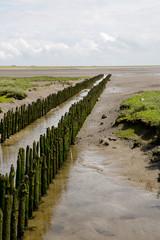 Wattlandschaft auf Norderney, Deutschland