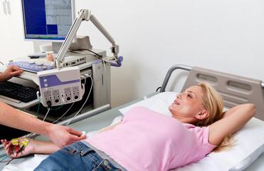 health healthcare hospital electromyography exam