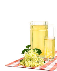 Juice of elderflower