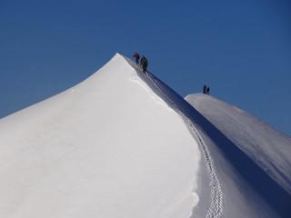 Arête des Dômes de Miage, Massif du Mont Blanc