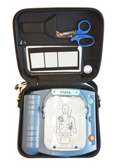 Automated External Defibrillator or AED box
