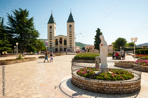 Medjugorje sanctuary and church