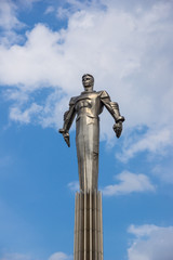 Yuri Gagarin monument in Moscow