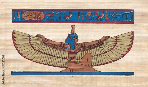 Maat goddes of order and truth In Egypt