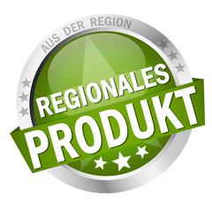 """Button mit Banner """" REGIONALES PRODUKT """""""