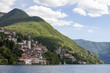Nesso country of the lake of Como