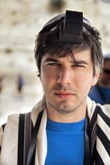 Jewish Tourist Portrait at the Western Wall