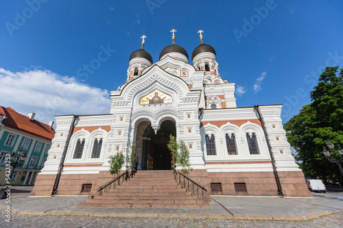 Alexander Nevsky Orthodox Cathedral in Tallinn