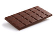 Black chocolate bar