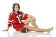 Teen Football Fan