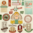 Bier Icons, Labels, Signs, Symbols