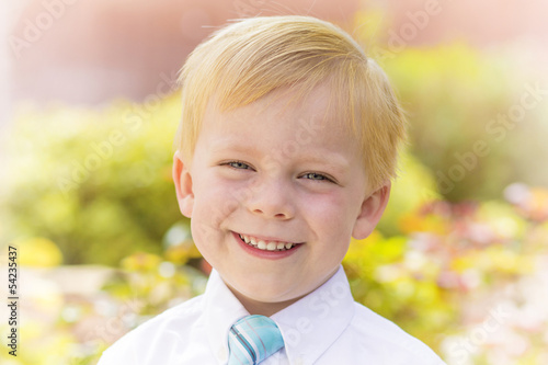 Handsome Little Boy Portrait