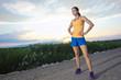 In Shape female Runner at Sunrise