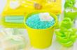 sea salt,soap and oil