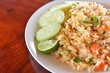 Thai Cuisine, Fried Rice with Vegetables and Meat