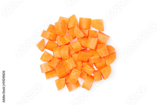 Diced carrot