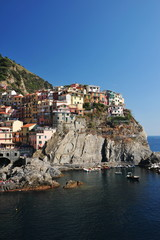 Manarola town of Cinque Terre National Park