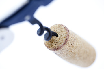 Isolated Cork Screw
