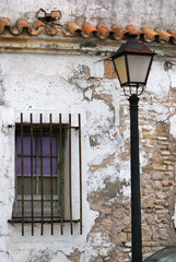 The old lantern in Cadiz,Spain