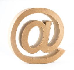 At-Symbol. E-Mail. Postfach
