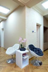 Modern interior -waiting room