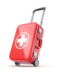 First aid kit for travel