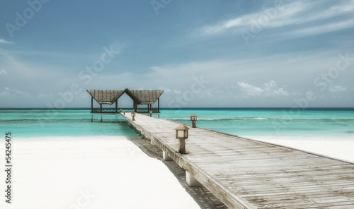 Fototapeten,strand,brücke,maldives,web