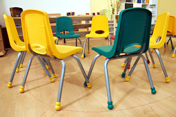 Montessori Kindergarten Preschool Classroom