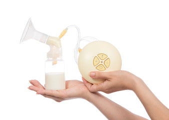 New compact electric breastpump for breastfeeding pump