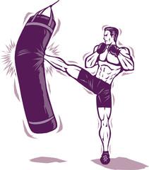 Kickboxer Man