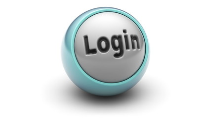 """login"" on ball. Looping."