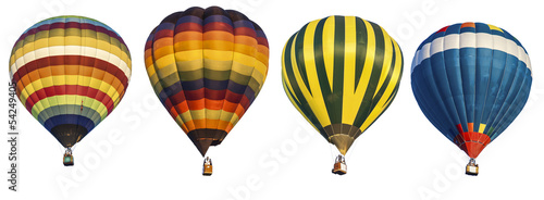 Plexiglas Overige hot air balloon