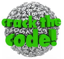 Crack the Code Number Sphere Breaking Password Security