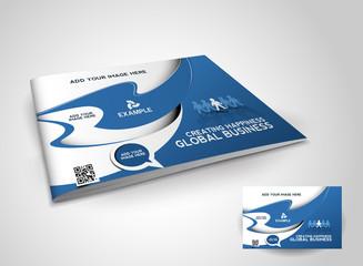 Brochure cover template. Vector Illustration