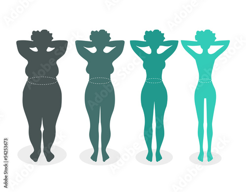 Women with different body mass index