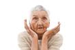astonished old lady