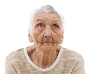grandma daydreaming