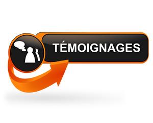 témoignages sur bouton web design orange