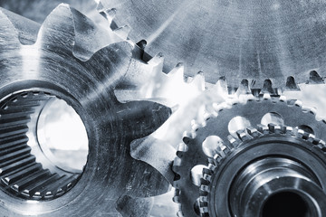 giant gears and cogwheels