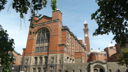 Birmingham University - The Great Hall.