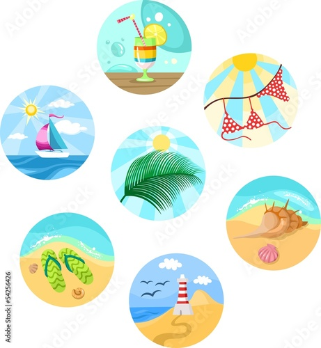 summer set icons